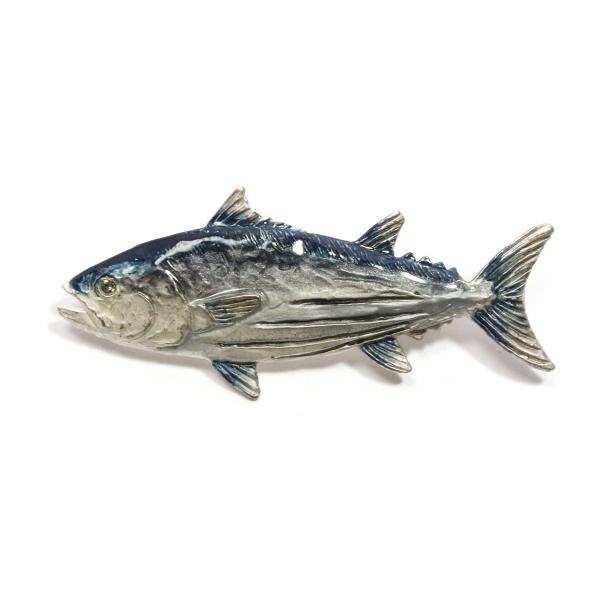 ブローチ 大きめ おしゃれ 魚 レディース メンズ ユニーク PalnartPoc パルナートポック 公式 ブラフシューペリア プレゼント カツオブローチ|palnartpocstore