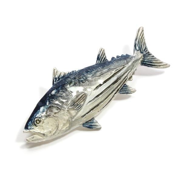 ブローチ 大きめ おしゃれ 魚 レディース メンズ ユニーク PalnartPoc パルナートポック 公式 ブラフシューペリア プレゼント カツオブローチ|palnartpocstore|02