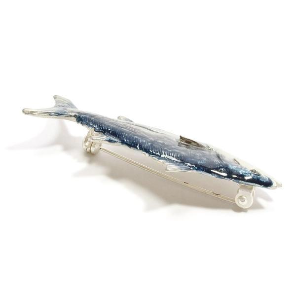 ブローチ 大きめ おしゃれ 魚 レディース メンズ ユニーク PalnartPoc パルナートポック 公式 ブラフシューペリア プレゼント カツオブローチ|palnartpocstore|03