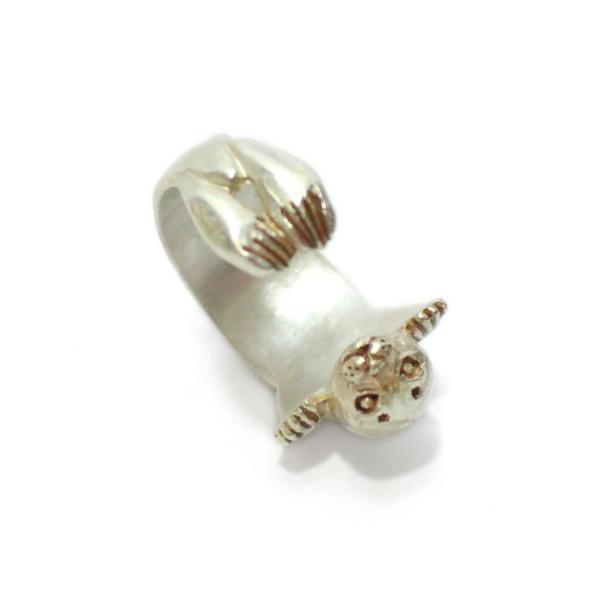 ゴマフアザラシ アザラシ 可愛い リング レディース 指輪 PalnartPoc ブランド パルナートポック直営 プレゼント アザラシリング|palnartpocstore|03