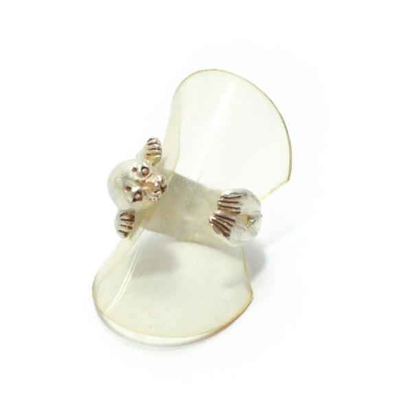 ゴマフアザラシ アザラシ 可愛い リング レディース 指輪 PalnartPoc ブランド パルナートポック直営 プレゼント アザラシリング|palnartpocstore|04