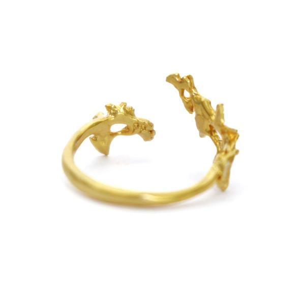 いちょう 秋 フリー シンプル 指輪 レディース リング PalnartPoc ブランド パルナートポック直営 プレゼント いちょうリング|palnartpocstore|05
