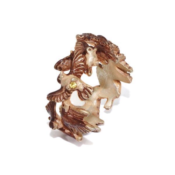 すずめ 雀 スズメ 指輪 リング 太め レディース PalnartPoc 11号 ブランド パルナートポック直営 プレゼント すずめリング|palnartpocstore|04