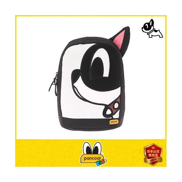 子供用 Pancoat KIDS パンコート POPBOW KIDS DAILY BACKPACK FE MIDNIGHT BLACK キャラクター BAG バッグ リュック|pancoat