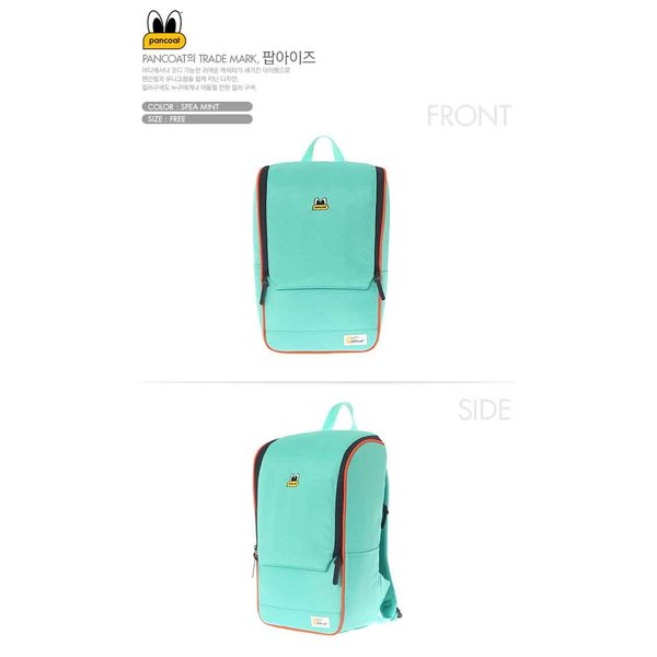 PANCOAT パンコート DAILY MOVE D5001 BACKPACK (FE) (SPEA MINT) キャラクター バッグ リュックサック かわいい 目玉 ショルダーバッグ トートバ パンコート|pancoat|02
