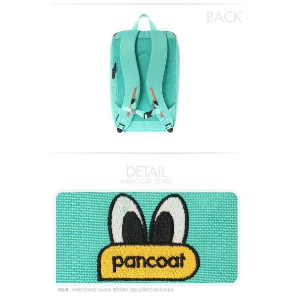 PANCOAT パンコート DAILY MOVE D5001 BACKPACK (FE) (SPEA MINT) キャラクター バッグ リュックサック かわいい 目玉 ショルダーバッグ トートバ パンコート|pancoat|03