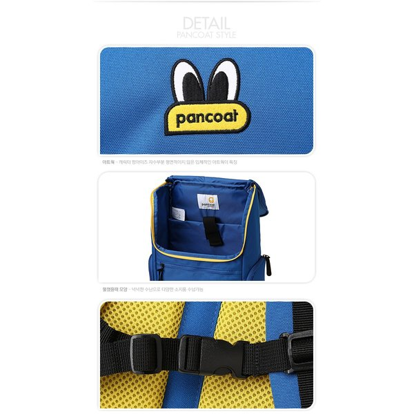 PANCOAT パンコート POPEYES SQUARE BACKPACK キャラクター バッグ リュックサック かわいい 目玉 ショルダーバッグ トートバッグ 通学 デイリー パンコート|pancoat|04