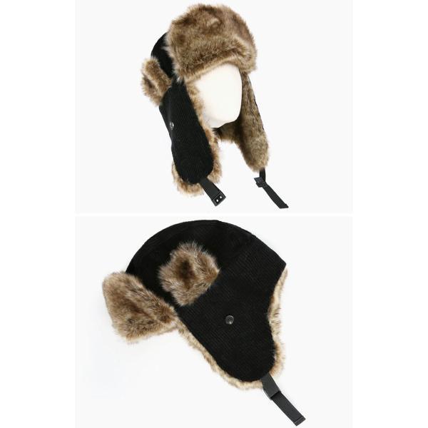 e0e8434fe76f7f ... スエード 耳あて付き帽子 ロシアファー帽子 ロシア帽子 スキー帽子 防寒用 パイロットキャップ ...