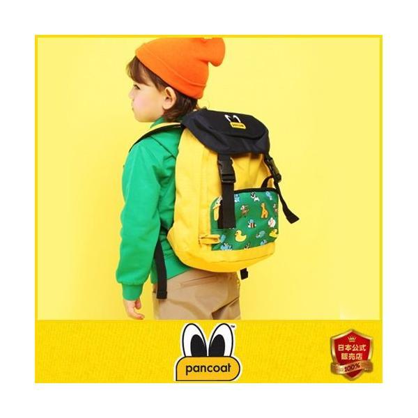 Pancoat KIDS 子供 キッズ パンコート POPEYES KIDS MULTIPRINT OUTDOOR BAG BANANA YELLOW キャラクター BAG バッグ リュ|pancoat