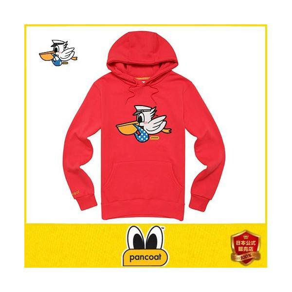 Pancoat パンコート パーカー フード付き 裏地起毛 冬 Tシャツ パーカー 長袖 HOOD 長袖 パンコート キャラクター パンコート|pancoat