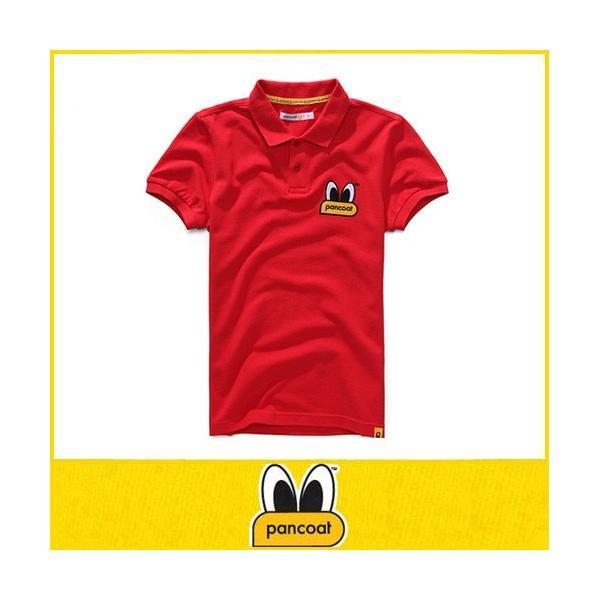Pancoat パンコート ポロシャツ キャラクター T-シャツ 122 POPEYES P.Q TOMATO RED 半袖 夏 Tシャツ メンズ レディース パンコート|pancoat