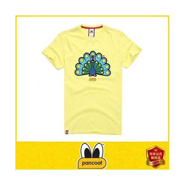 Pancoat パンコート キャラクター T-シャツ POPPEACOCK T-SHIRTS CITRIN LIME 半袖 夏 Tシャツ メンズ レディース パンコート pancoat