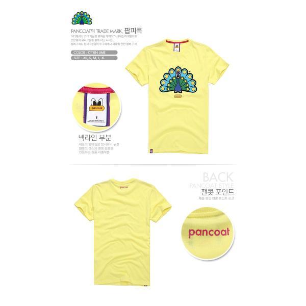 Pancoat パンコート キャラクター T-シャツ POPPEACOCK T-SHIRTS CITRIN LIME 半袖 夏 Tシャツ メンズ レディース パンコート pancoat 02