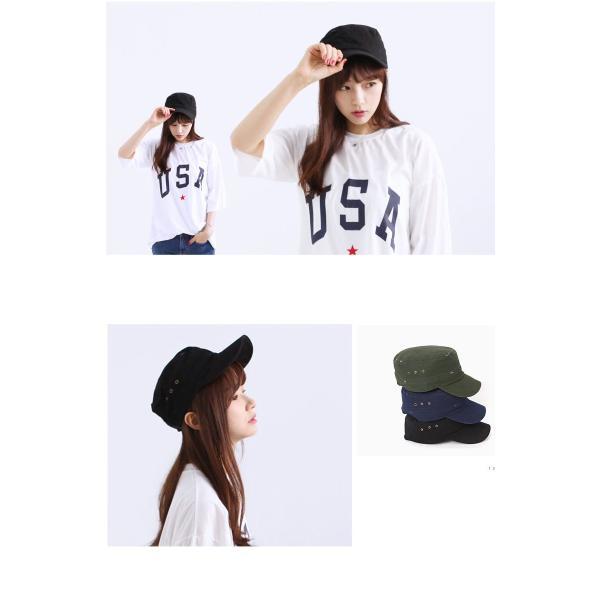 DM便送料無料 帽子 キャップ ワークキャップ レディース メンズ 男女兼用 シャンブレー ダック 無地 WORK CAP 帽子 ローキャップ|pancoat|04