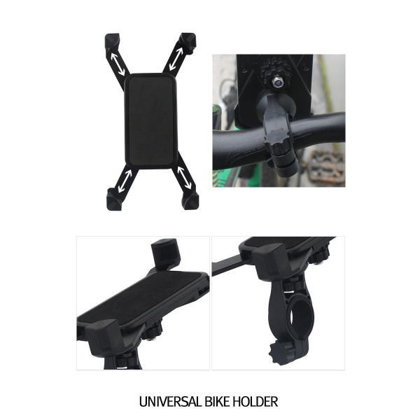自転車用 スマホホルダー  ロードバイク マウンテンバイク 等のハンドルバーへ簡単取り付け! pancoat 05