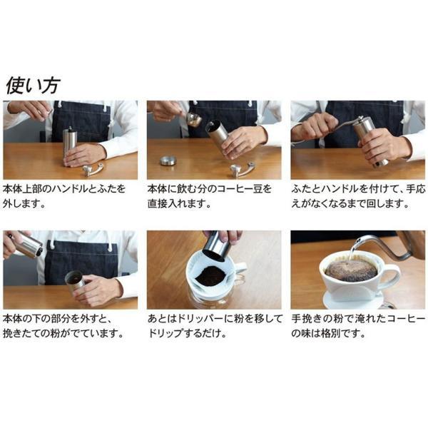 コーヒーミル 手挽き 手動 ハンド pancoat 06