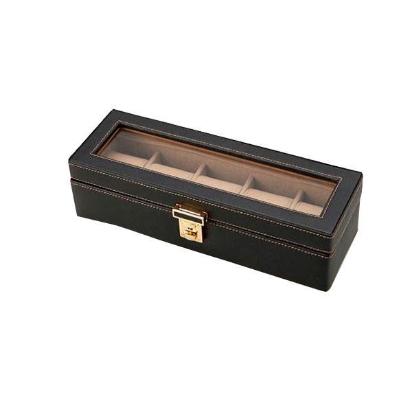 茶谷産業 Elementum ウォッチケース(5本用) 240-437|b03
