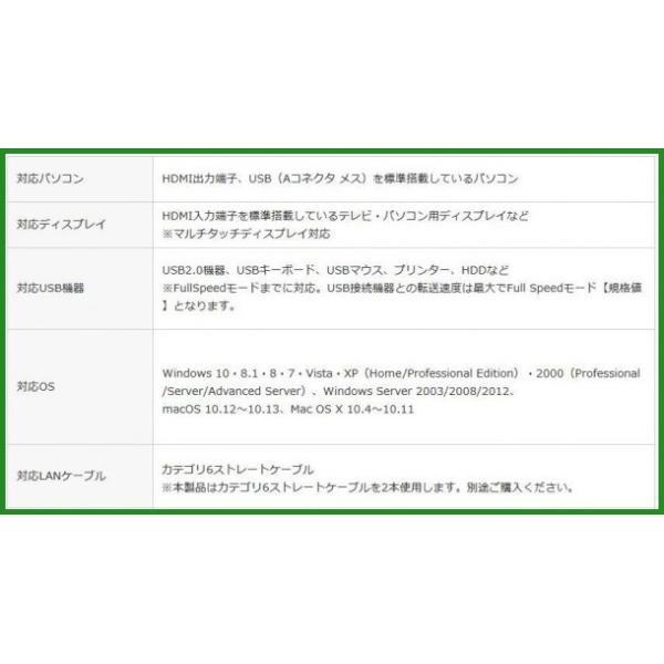 サンワサプライ HDMI+USB2.0エクステンダー VGA-EXHDU|b03