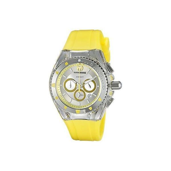 テクノマリーン 腕時計 Technomarine レディース TM-115169 Cruise パール アナログ ディスプレイ クォーツ イエロー 腕時計 pandastore 01