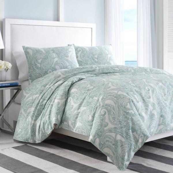 掛け布団 セット ノーティカ Nautica Long Bay Twin Comforter Set