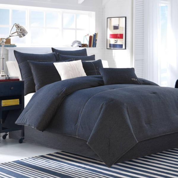 掛け布団 セット ノーティカ Nautica Seaward King Comforter Set