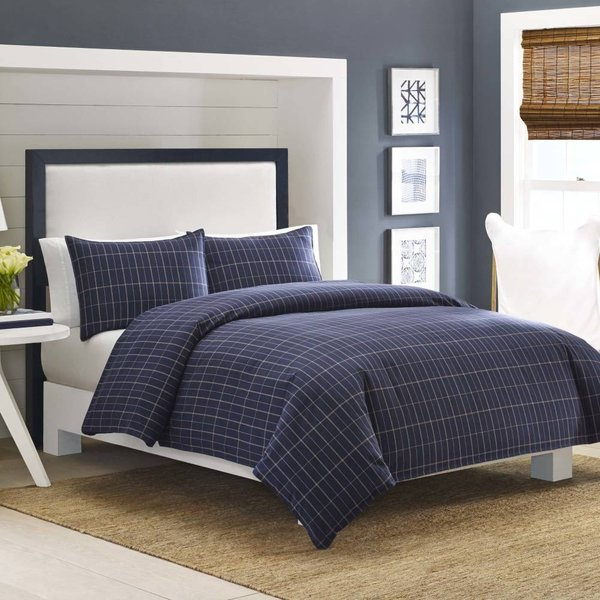 掛け布団 セット ノーティカ Nautica Brindley Full/Queen Comforter Set