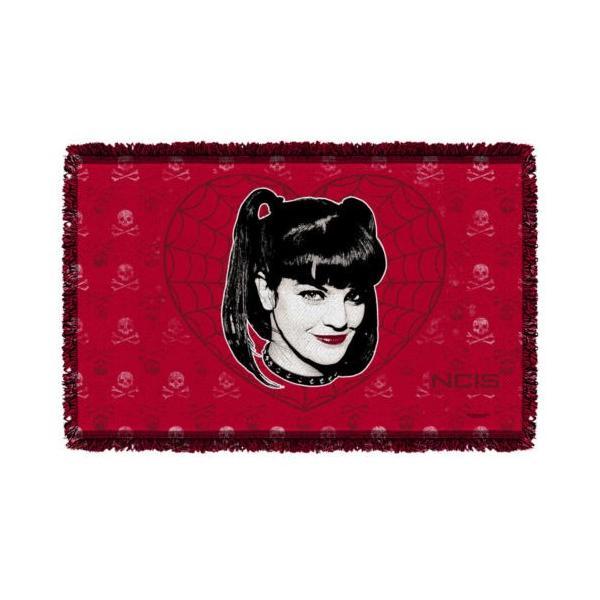 """エヌシーアイエス アフガン スロー ブランケット ソファー NCIS Abby Gothic ライセンス ブランケット 36"""" X 60"""""""