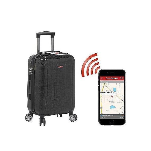 """ラゲッジ スーツケース Planet Traveler Planet Traveler USA USA Smart Tech Case 19"""" Carry On Black PT004-19in-BLK"""