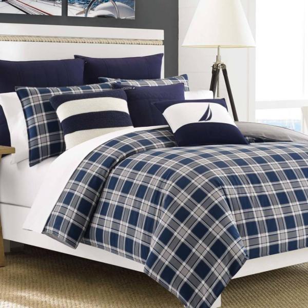 掛け布団 セット ノーティカ Nautica Eddington Twin Comforter Set