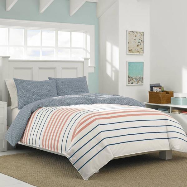 掛け布団 セット ノーティカ Nautica Staysail Twin Comforter Set
