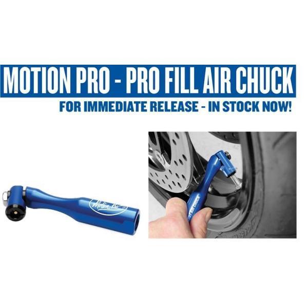 Motion Pro 08-0602 Pivoting Head Pro Fill Air Chuck
