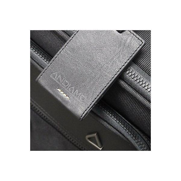 バッグ リュック アンディアモ Andiamo Avanti Collection Business Backpack Midnight Black A3333-01-BP