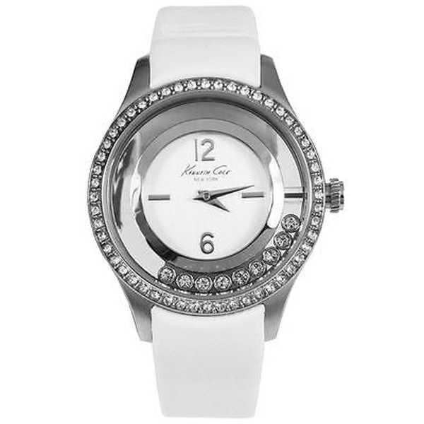 腕時計 ケネスコール Kenneth Cole Transparency KC2881 ホワイト ストラップ アナログ デザイナー 腕時計|pandastore