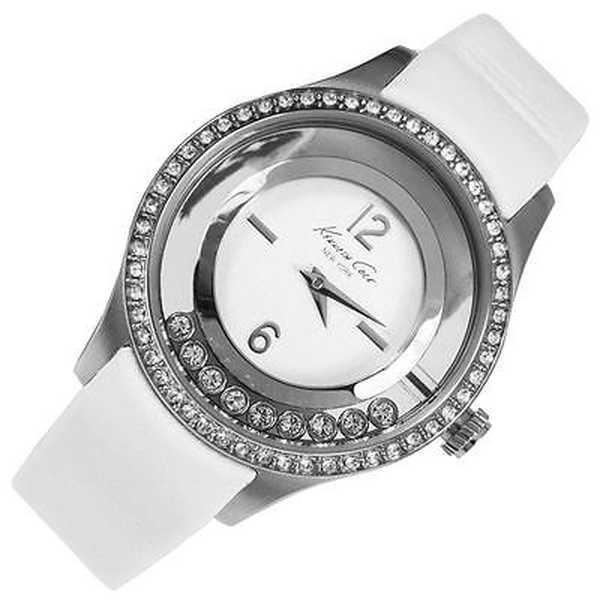 腕時計 ケネスコール Kenneth Cole Transparency KC2881 ホワイト ストラップ アナログ デザイナー 腕時計|pandastore|02