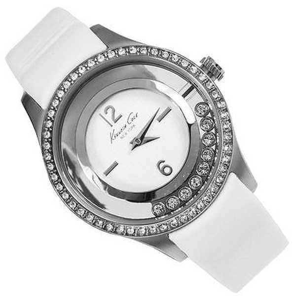 腕時計 ケネスコール Kenneth Cole Transparency KC2881 ホワイト ストラップ アナログ デザイナー 腕時計|pandastore|04