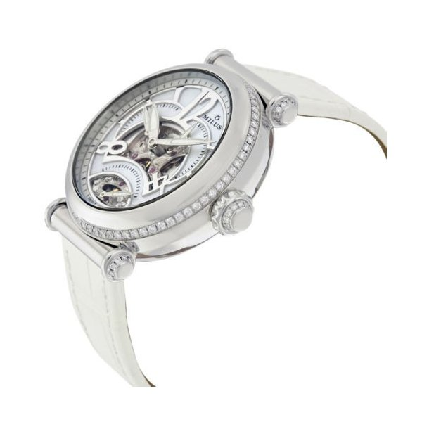 腕時計 ミリス Milus Merea Mother of パール ダイヤル ダイヤモンド レディース 腕時計 MERSP04