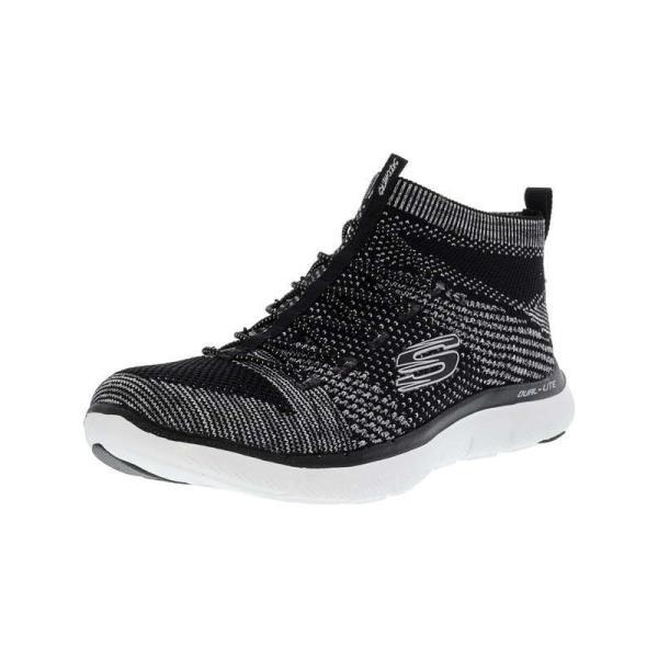 フラットシューズ スケッチャーズ Skechers Women's Flex Appeal 2.0 - Hourglass Ankle-High Slip-On Shoes