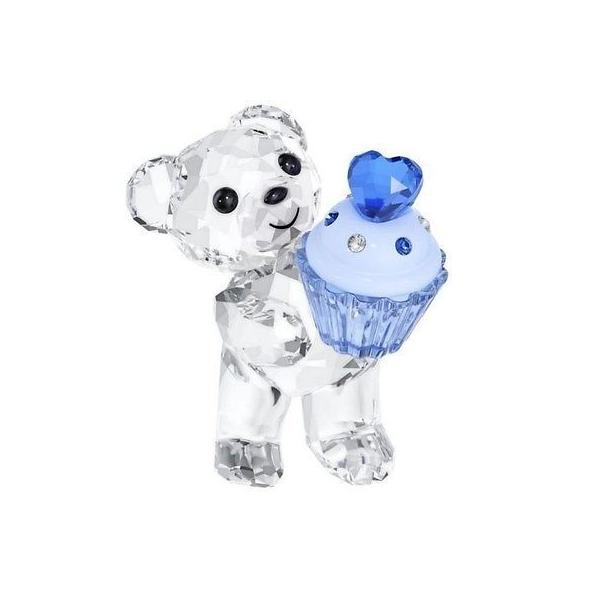 海外セレクションスワロフスキ Kris ベア ブルー Cupcake New 2014 # 5051769