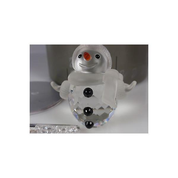 海外セレクション フィギュア おもちゃ コレクター 趣味 置き物 インテリア スワロフスキ クリスタル スノーMAN リタイアド 2009 MIB #250229