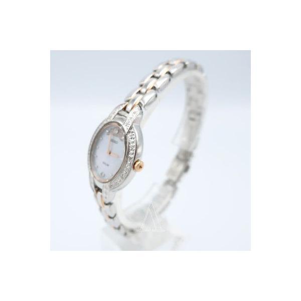 腕時計 セイコー Seiko Tressia Misty Copeland Women's Quartz Solar Watch SUP327-SD|pandastore|02