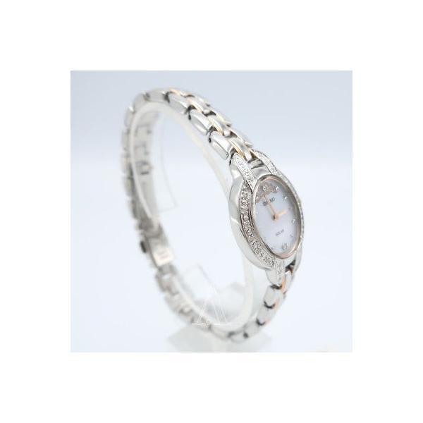 腕時計 セイコー Seiko Tressia Misty Copeland Women's Quartz Solar Watch SUP327-SD|pandastore|03