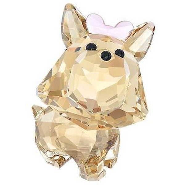 アルミニウム アルミ ボックス ホルダー スワロフスキー スワロフスキ Puppy Dixie The Yorkshire Terrier 5063332