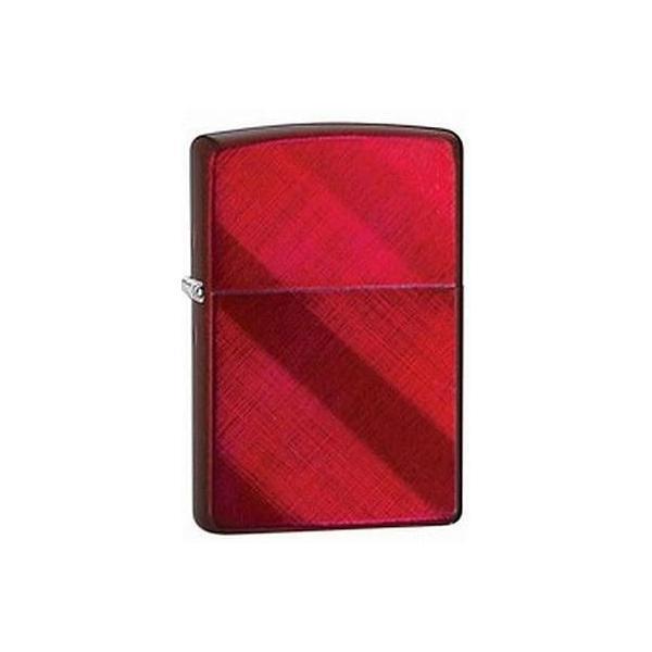 ライター ジッポー Zippo 28353 diagonal weave candy apple red RARE  DISCONTINUED Lighter|pandastore