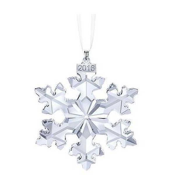 アルミニウム アルミ ボックス ホルダー スワロフスキー クリスタル クリスマス オーナメント 2016 リミテッド エディション スノーフレーク 5180210