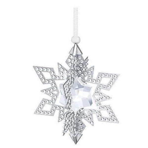 アルミニウム アルミ ボックス ホルダー スワロフスキー スワロフスキ クリスマス オーナメント Star シルバー トーン 5135808