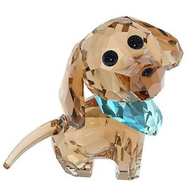 アルミニウム アルミ ボックス ホルダー スワロフスキー スワロフスキ Puppy Milo The Dachshund 5063336