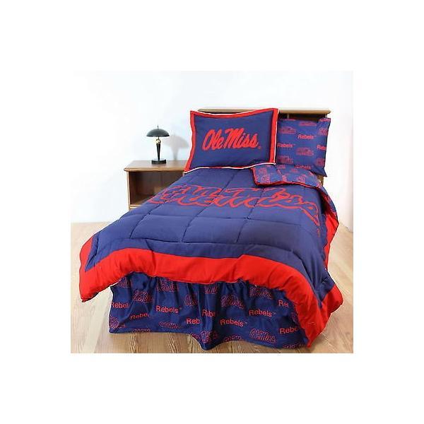 掛け布団 セット Mississippi Rebels Comforter & Sham Set Twin Full Queen Size CC