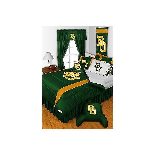 掛け布団 セット Baylor University Bears Comforter Sham Bedskirt Valance Pillowcase Twin to King