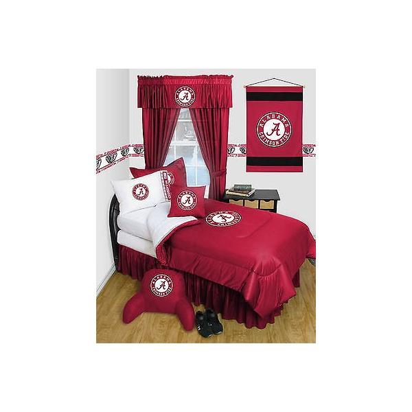 掛け布団 セット Alabama Crimson Tide Comforter & Pillowcase Twin Full Queen Size LR