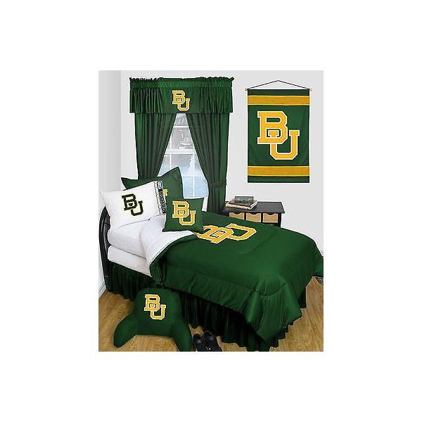 掛け布団 セット Baylor University Bears Comforter & Pillowcase Twin Full Queen Size LR